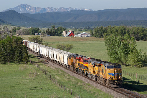 up unionpacific up8074 ge generalelectric es44ah c45ah castlerock colorado jointline pikespeak rampartrange mpuny train railroad