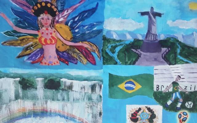 Cataratas do Iguaçu, passistas e Corcovado: o Brasil aos olhos das crianças russas