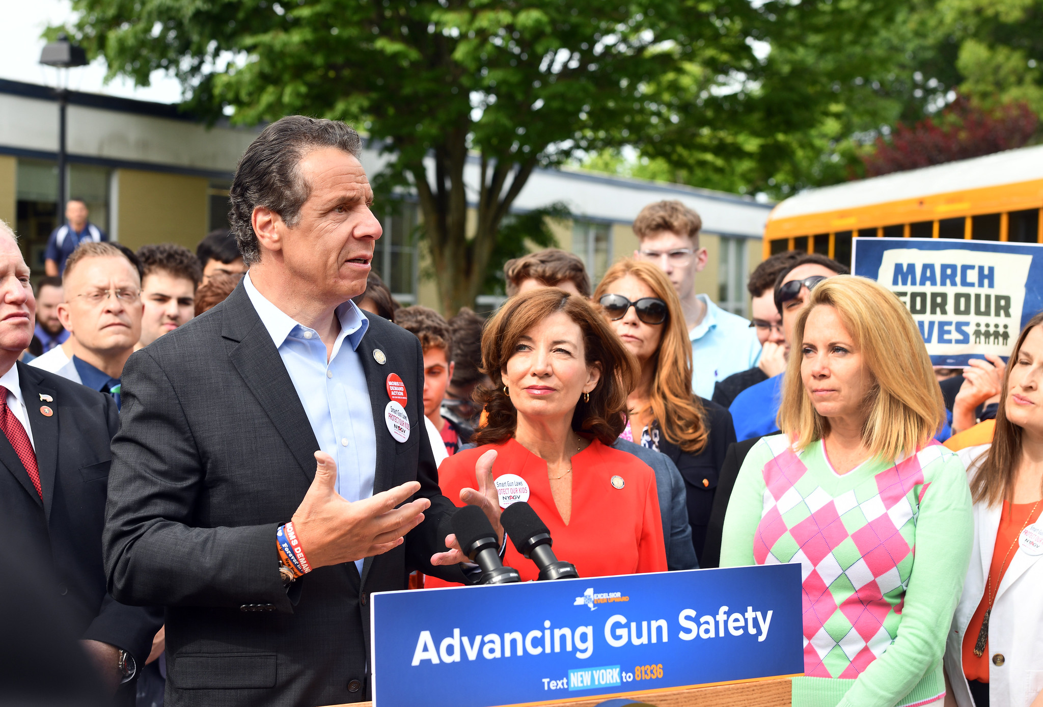 Governor Cuomo Kicks Off Bus Tour to Pass Red Flag Gun Protection Bill