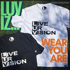 LUV iz... WEAR THE HEART is