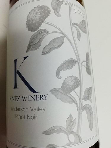 Knez Pinot Noir Anderson Valley