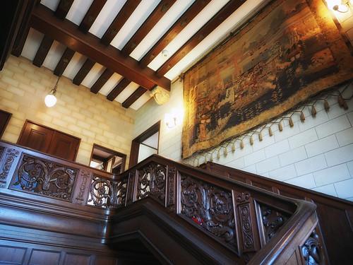 近代建築・旧乾邸階段