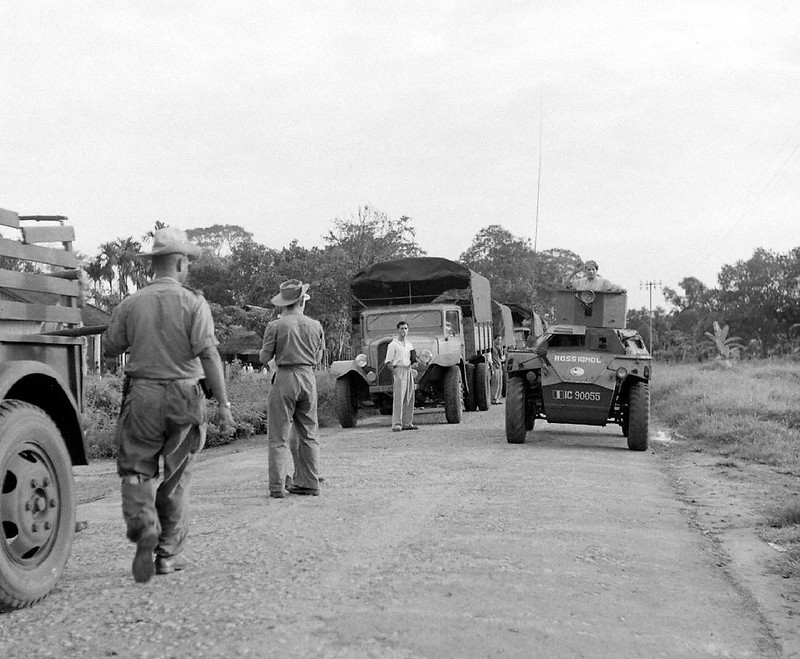 Humber Scout Car - Indochina - 1948 - Jack Birns - LIFE