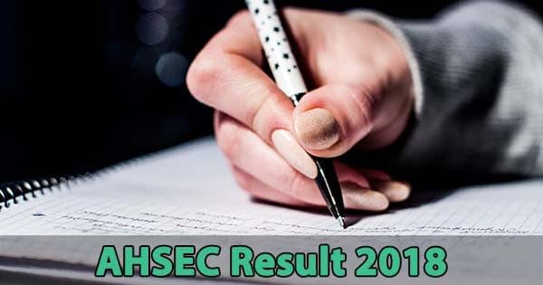 ahsec result