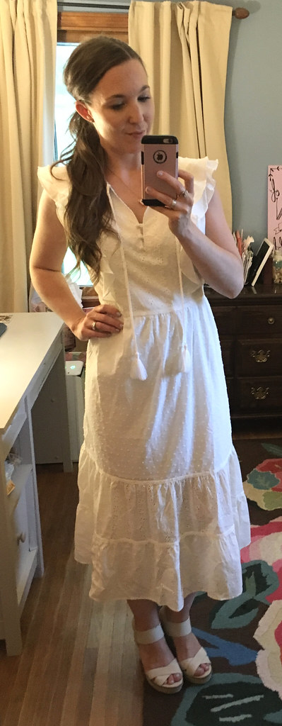 Matilda Jane white Joanna Gaines Dress