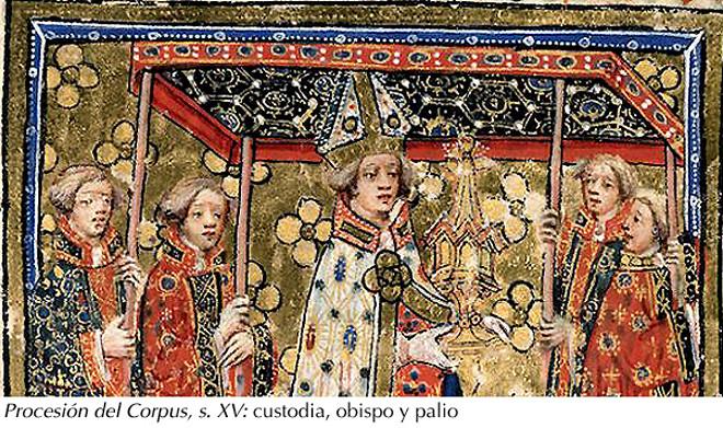 Procesión del Corpus, s. XV