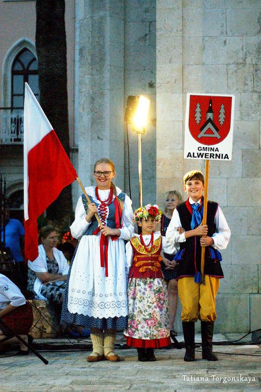 Представители польской фольклорной группы