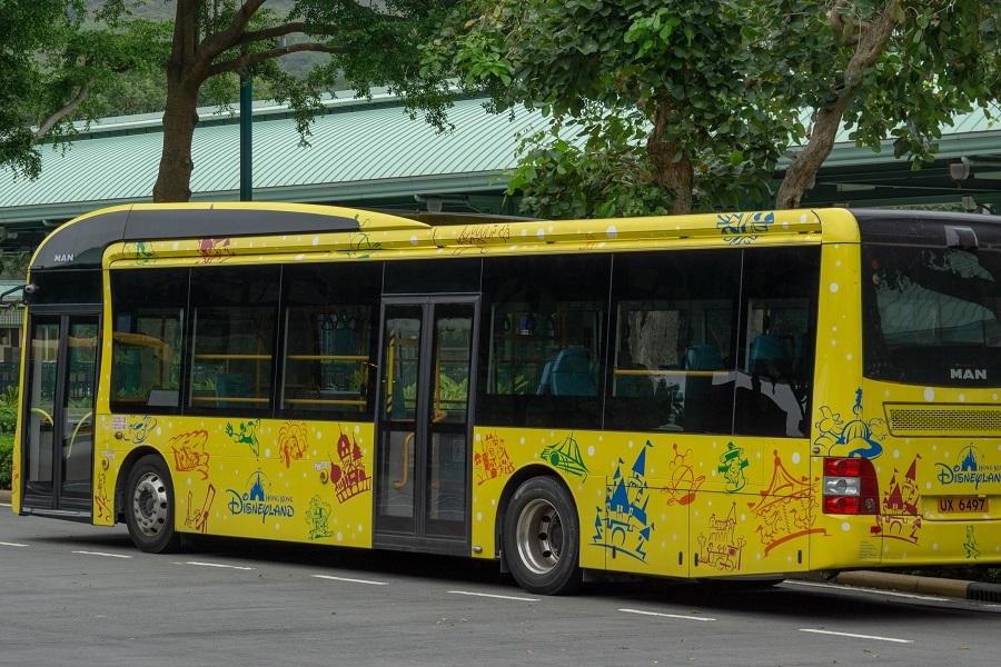 180612 香港ディズニーランド・リゾート循環バス