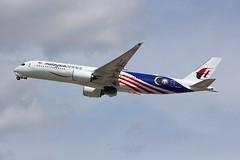 A350 9M-MAF London Heathrow 15.06.18-1