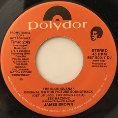 JAMES BROWN:(GET UP I FEEL LIKE BEING LIKE A)SEX MACHINE(LABEL SIDE-A)