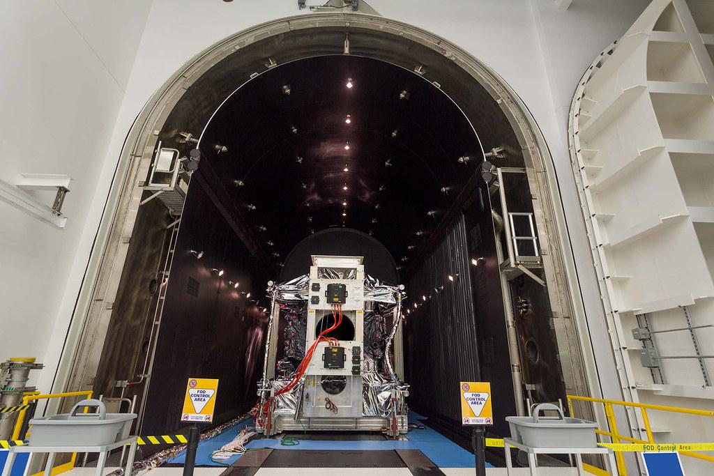 GPSIII SV02 Completes TVAC
