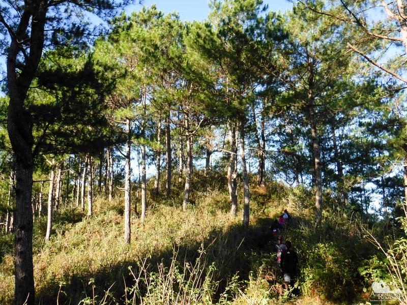 Traverse to Mt. Fato