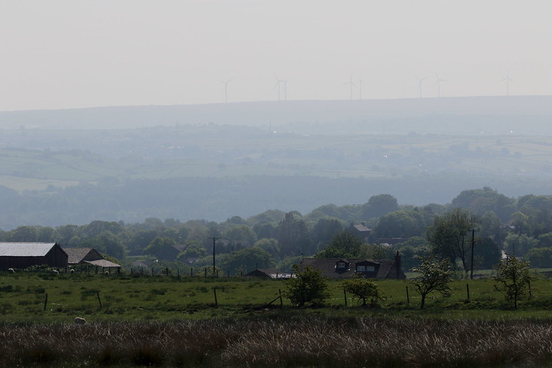 Misty View to Ovenden Moor
