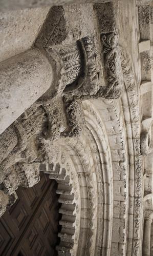 Portada Iglesia románica de San Bartolomé. Campisábalos. Guadalajara. IMG_3541_ps