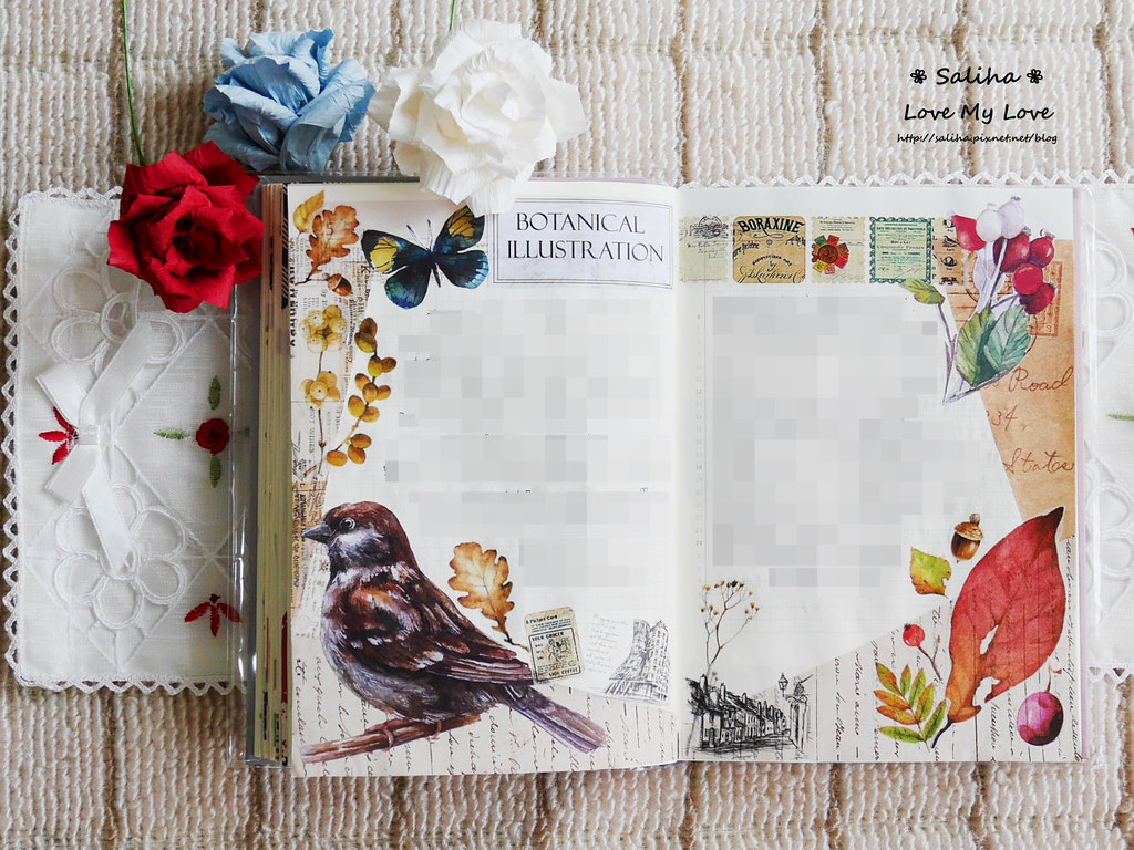 開花實驗室手帳設計裝飾紙膠帶 (13)