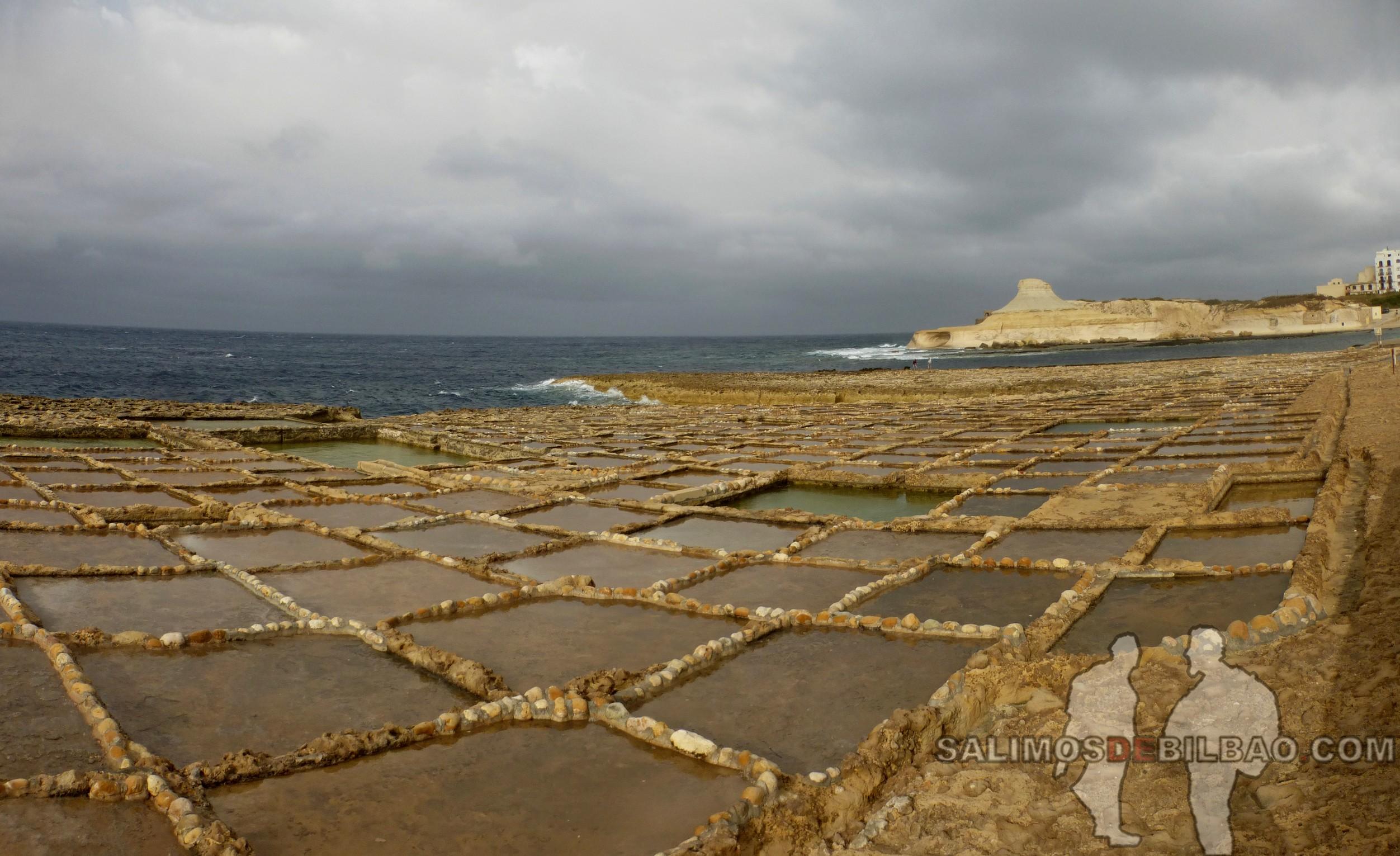 0444. Pano, Salinas, Xwejni Bay, Gozo