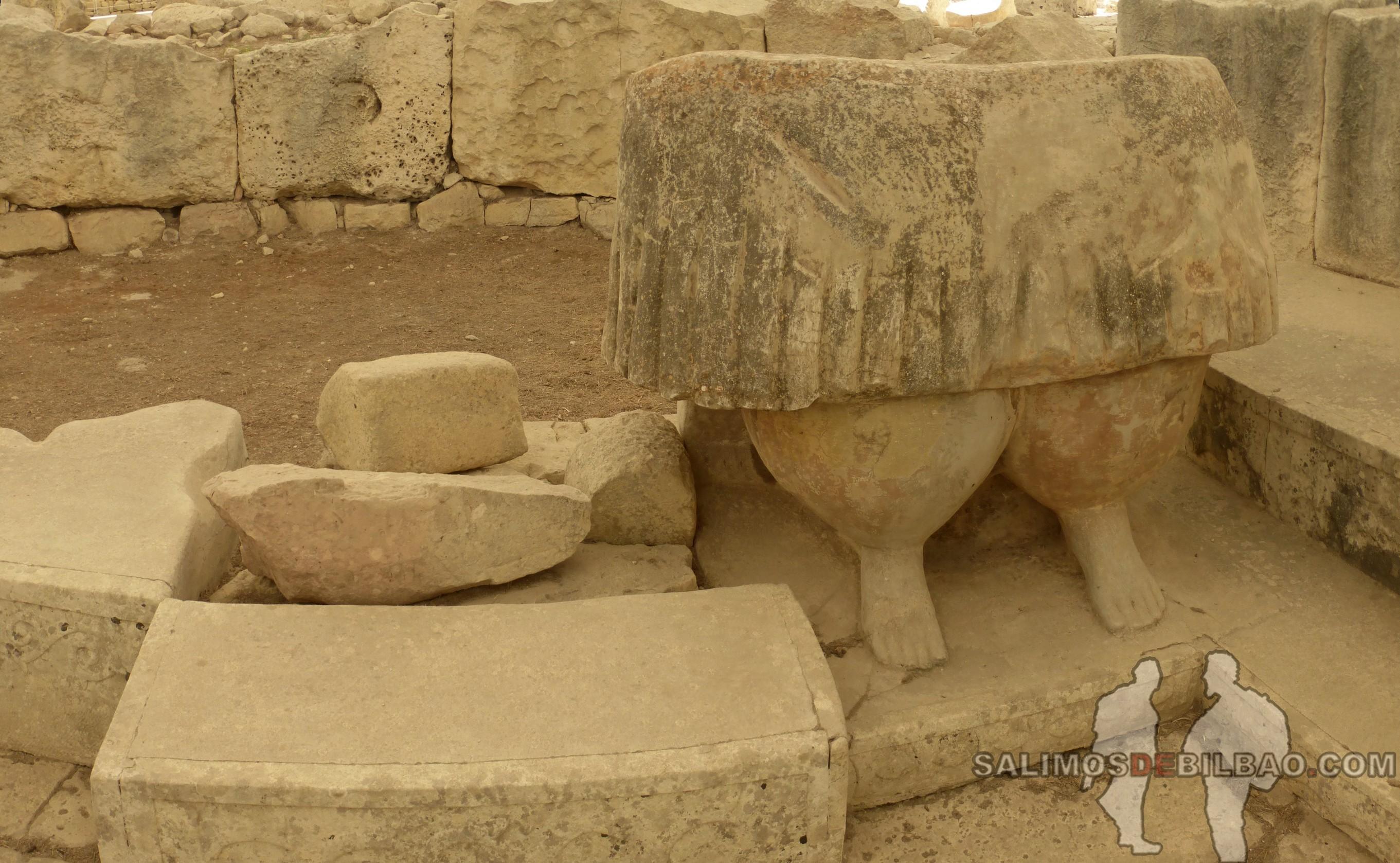 0673. Pano, Templos Tarxien, Malta