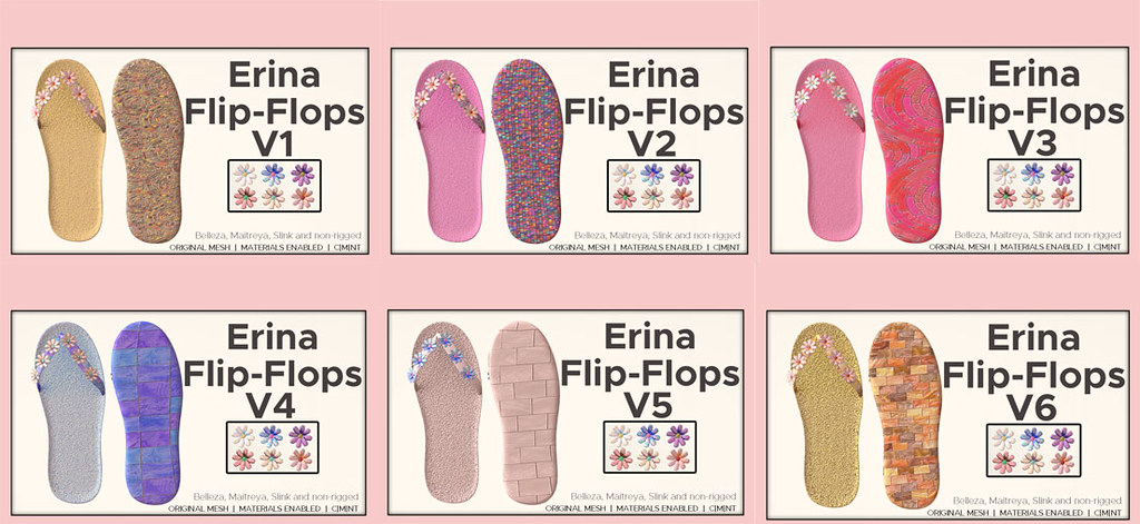 Erina Flip-flops @ The Chapter Four