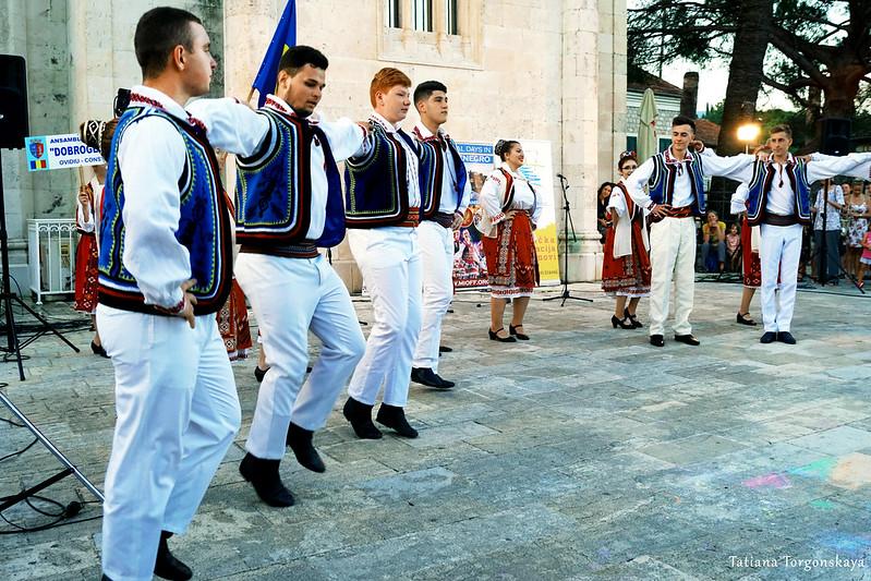 Танец румын