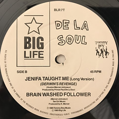 DE LA SOUL:ME MYSELF AND I(LABEL SIDE-B)