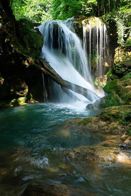 Văioaga Falls, Nera Gorge-Beușnița National Park, Romania