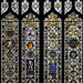 Medieval stained glass treasures - Norwich Cathedral, Norwich, Norfolk, England