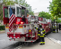 FDNY Ladder 34 Fire Truck, Washington Heights, New York City