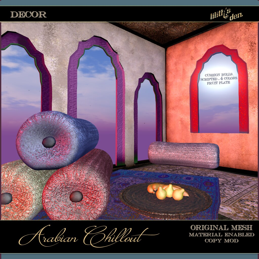 Lilith's Den - Arabian Chillout - TeleportHub.com Live!