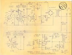 Garrard TechEng Repeat Playing Deck Control Circuit 290361