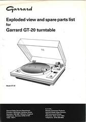 Garrard TechEng Service Manual GT-20