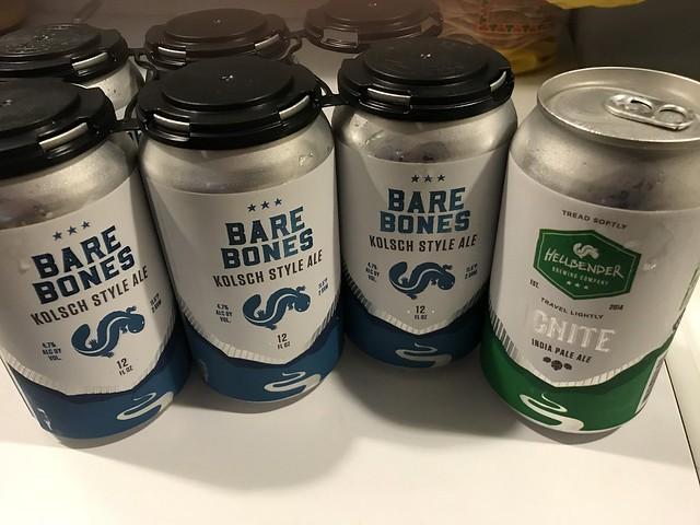 Hellbender in cans!