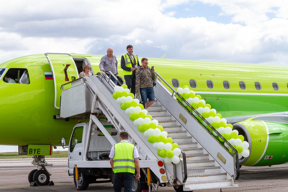 S7 Airlines первый рейс в Саратов фото 7