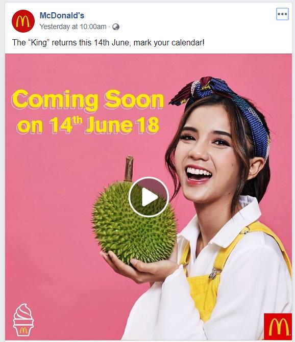 mcD durian