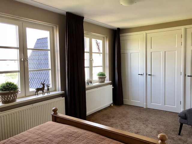 Kastenwand slaapkamer landelijke stijl