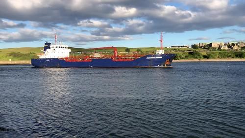 Shannon Fisher - Aberdeen Harbour Scotland - 18/6/2018