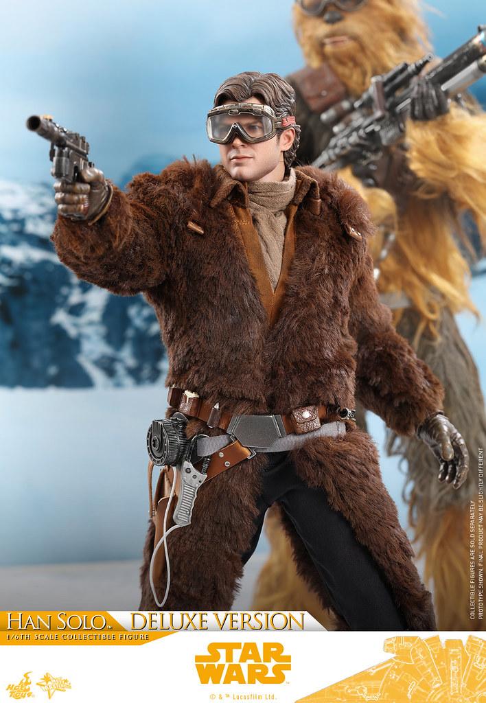 大衣看起來真的暖烘烘啊~~ Hot Toys - MMS492 -《星際大戰外傳:韓索羅》韓·索羅 豪華版 Han Solo(Deluxe Version) 1/6 比例人偶作品