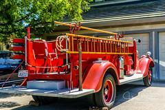 1933 Ford La France Fire Truck