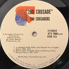 THE CRUSADERS:THE 2ND CRUSADE(LABEL SIDE-D)