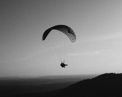 poopoopoint paragliding seattle nikon d810 fakefilmgrain