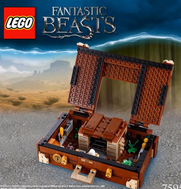 LEGO Newt's Case of Magical Creatures (75952) 3
