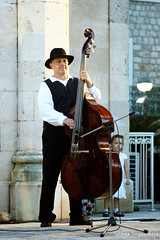 Музыкант словенской фольклорной группы