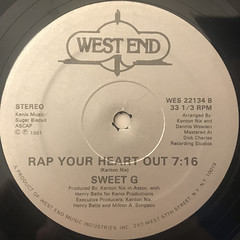 SWEET G:A HEARTBEAT RAP(LABEL SIDE-B)