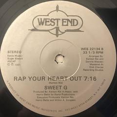 SWEET G:A HEARTBEAT RAP(LABEL SIDE-B)