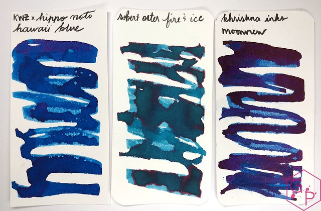 KWZ Ink Hawaii Blue Ink Review 4