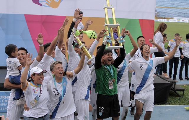 Guatemala campeón del II Torneo Centroamericano y del Caribe de Olimpiadas Especiales