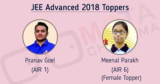 JEE Adavanced Toppers 2018