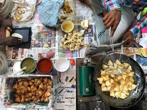 City Food - The Best Cocktail Samosas, Scindia Lane