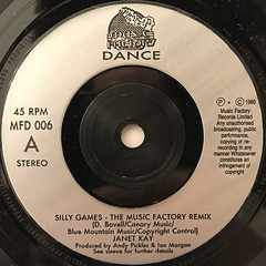 JANET KAY:SILLY GAMES(LABEL SIDE-A)