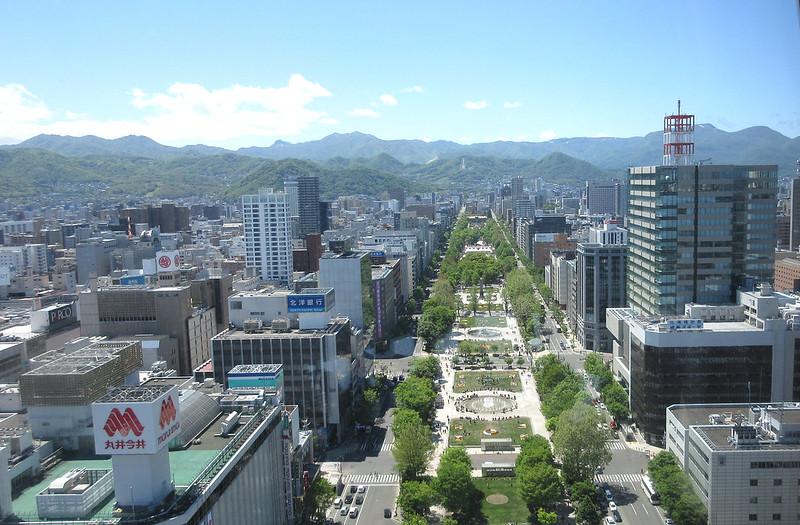 Sapporo TV Tower Hokkaido Japan