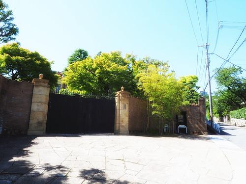 近代建築・旧乾邸正門